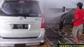 hidrolik cuci mobil thunder h istana carwash