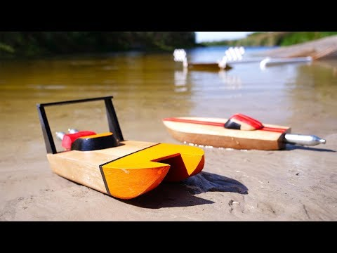 Racing Boat Powered By CO2 Cartridges CHALLENGE