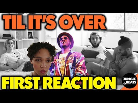 Anderson Paak - Til It's Over REACTION/REVIEW (Jungle Beats)
