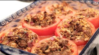 Turkey-stuffed Tomatoes | Rule Of Yum Recipe