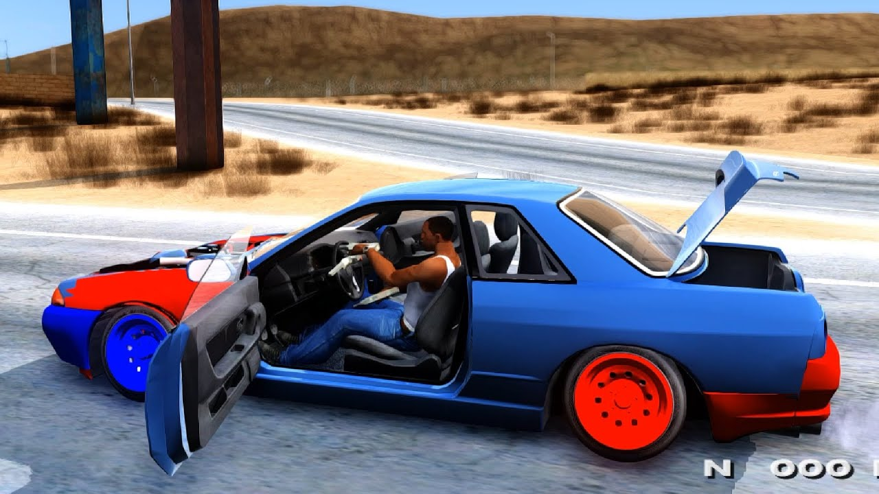 Gta San Andreas Nissan Skyline Camber Drift Enromovies Youtube