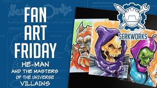Fan Art Friday: He-Man and the Masters of the Universe-Villains