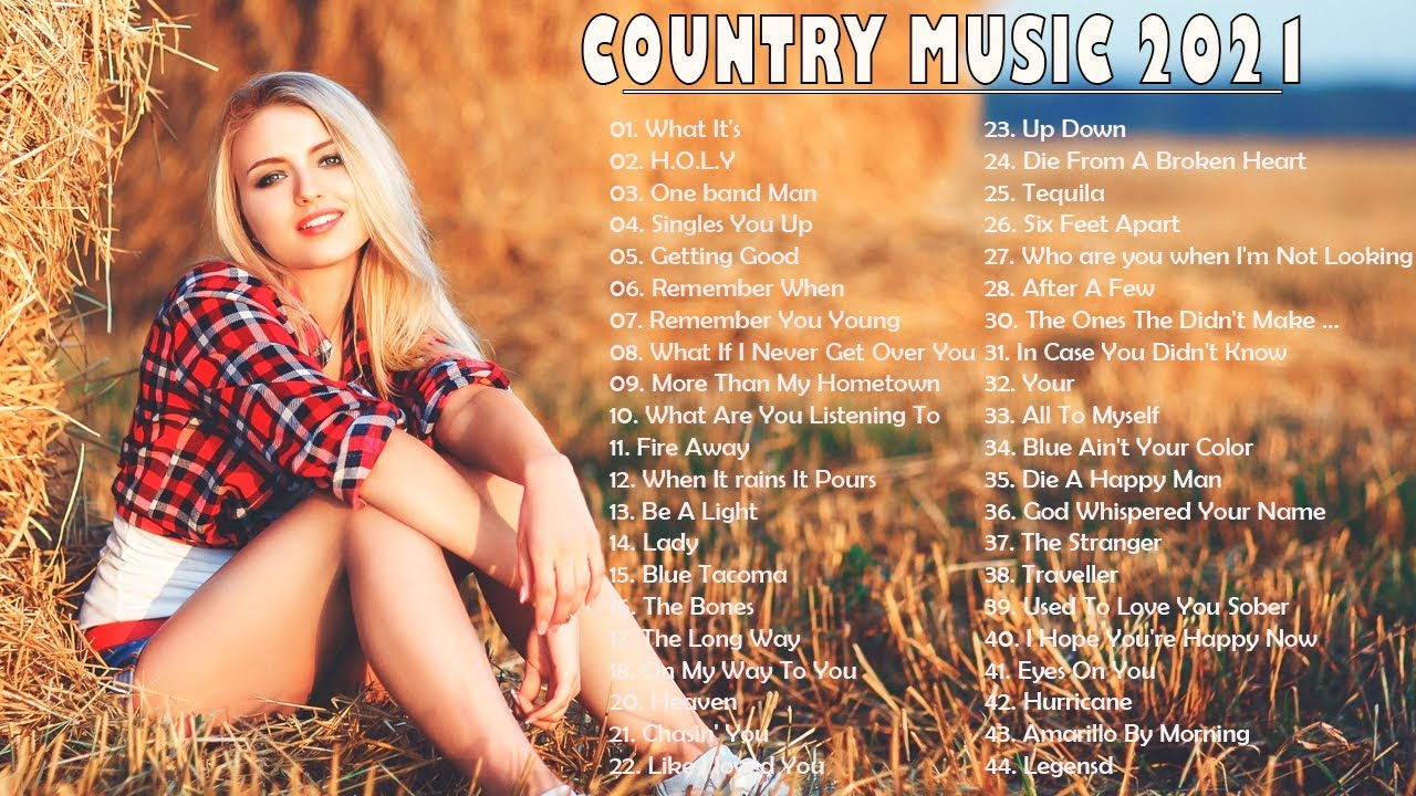 Country Music Playlist 2021 Top New Country Songs 2021 Best Country Hits Right Now Music 2021 Youtube