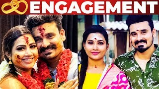 Myna Nandhini Gets Engaged To Nayagi Serial Yogesh!