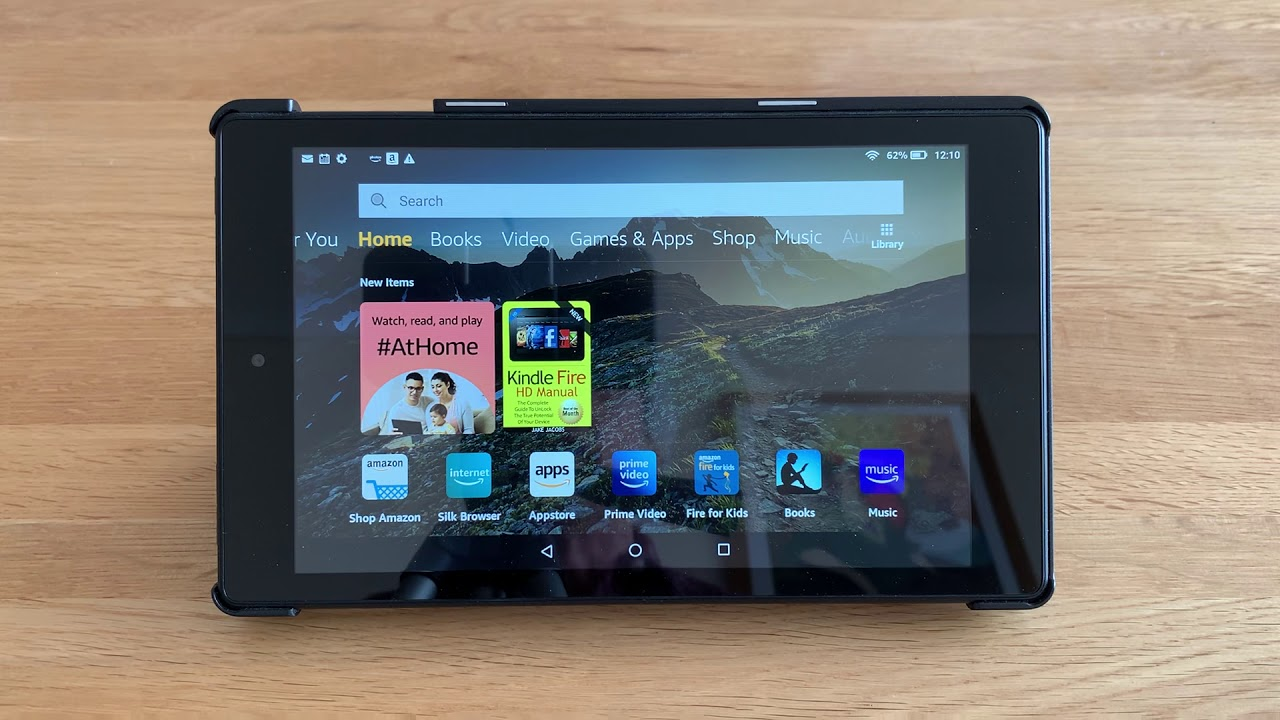 Zoom on Kindle Fire for U9A