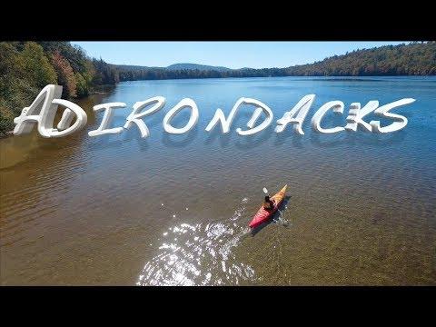 Kayak Camping in the Adirondacks