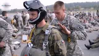 U.S., Multinational Paratroopers Getting Ready For Airborne