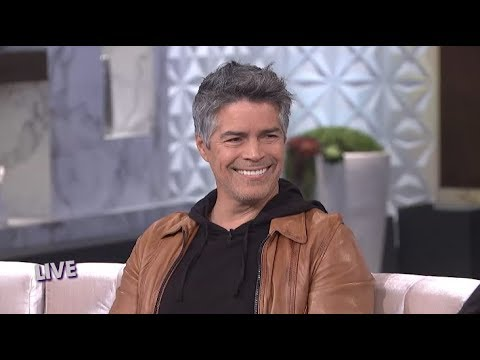 FULL INTERVIEW: Esai Morales Reacts to Adrienne Making Him Her MCM! – Part 1