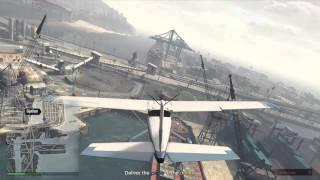 GTA 5 Online Landing gear mission!