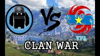 WOT Clan War SEA : YETI vs VPA Lakeville