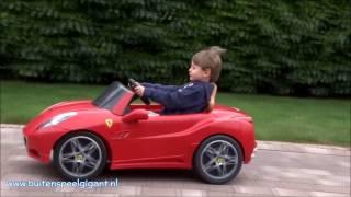 Feber Ferrari California 12V Elektrische Kinderauto