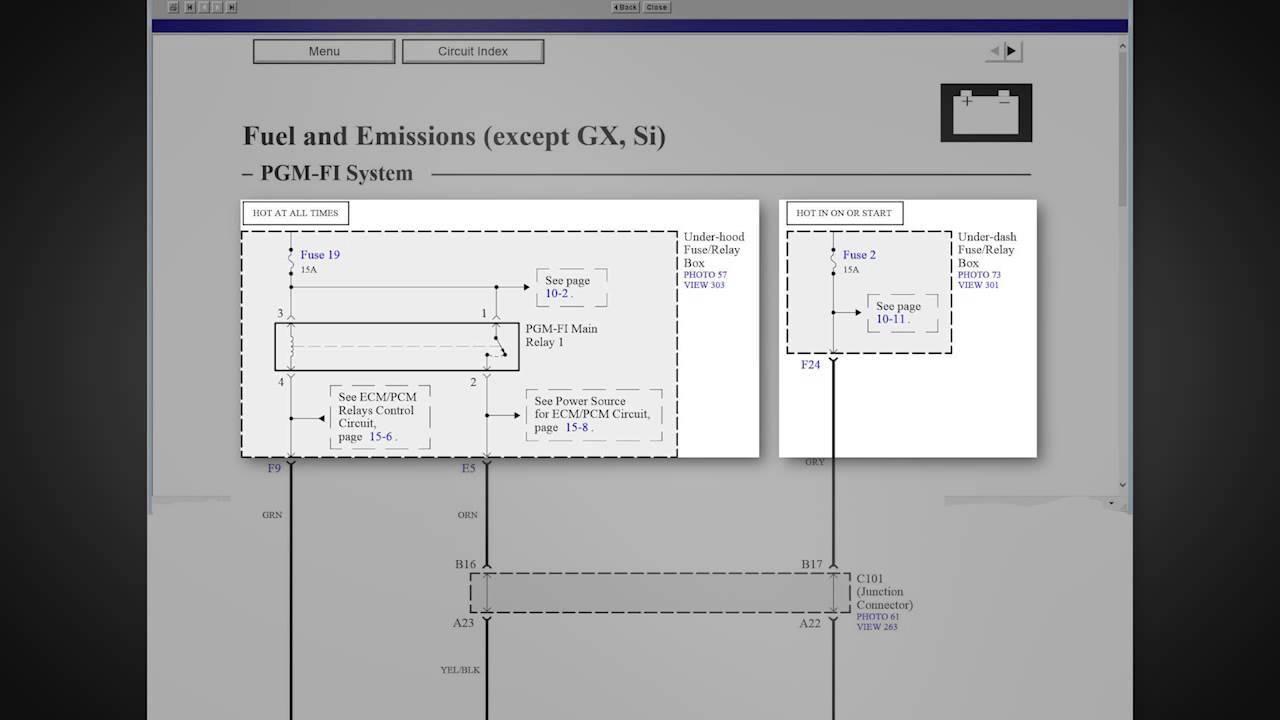 rv ac wiring diagram led strip honda diagrams 2006 to 2011 youtube