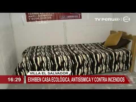 los modulos de vivienda temporales que no se queman - PARQUE INDUSTRIAL DE VILLA EL SALVADOR