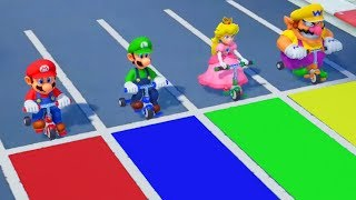 Super Mario Party - All Racing Minigames (2 Players)