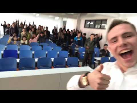my students at Shandong University of Science and Technology