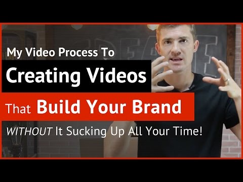How To Make Videos and Create Content That Builds Your Brand and Business (Video Production Process)