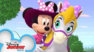 Giddy Up, Penelope Music Video 🐎| Mickey Mouse Mixed-Up Adventures | Disney Junior