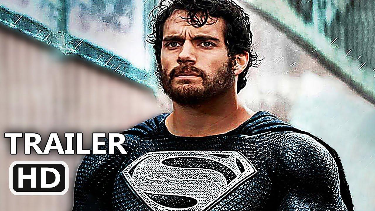 "JUSTICE LEAGUE ""Superman Black Suit"" Deleted Scene (2018) Superhero Movie HD"