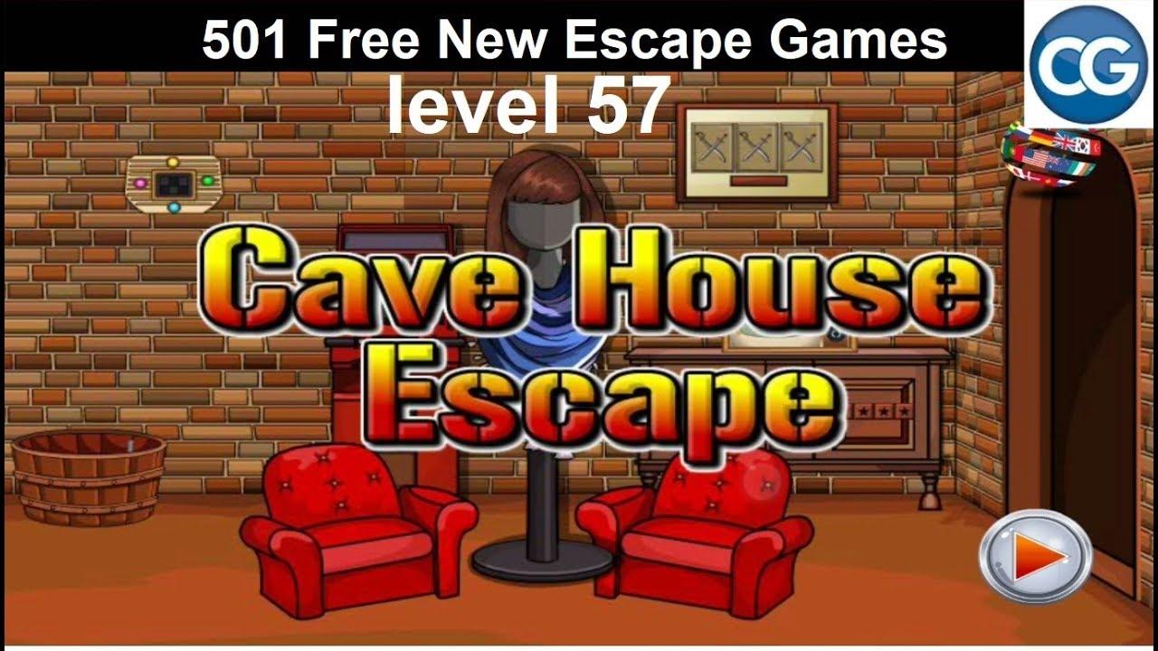 Walkthrough 501 Free New Escape Games Level 57 Cave