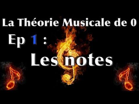 La Théorie Musicale de 0 - Episode 1 : Les Notes - JerRock
