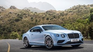 Bentley Continental GT V8S обзор 2016.  Тест-драйв.  Test Drive