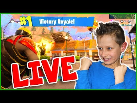 Victory Royale Fortnite Live Stream!