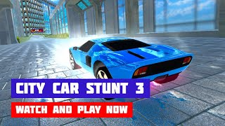 City Car Stunt 3 · Game · Gameplay