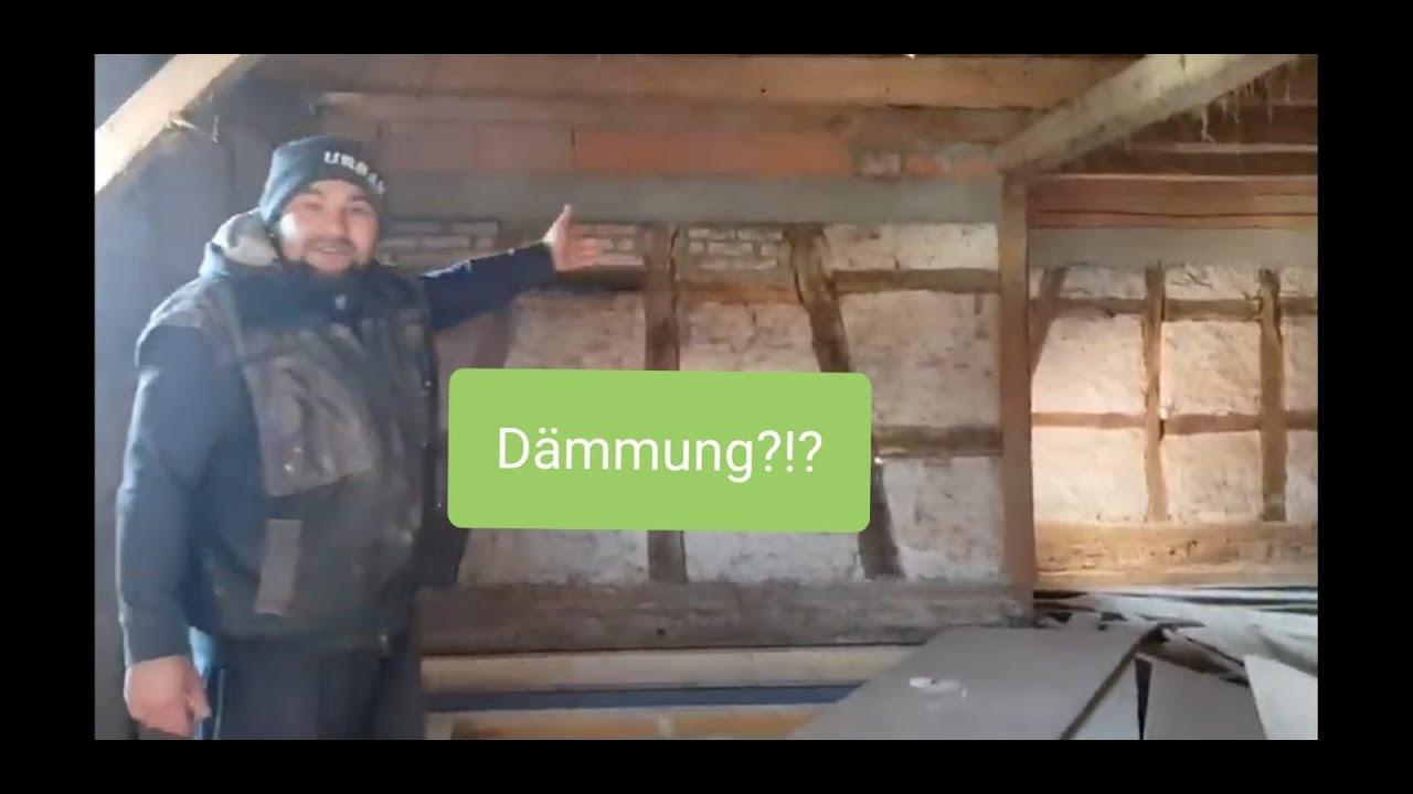 Fachwerk Dammen Innendammun Mit Styropor Fachwerkhaus Sanieren