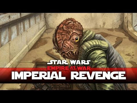 Imperial Fleet Over Mon Calamari - Thrawns Revenge New Version- Ep4 - (Star Wars RTS Lets Play)
