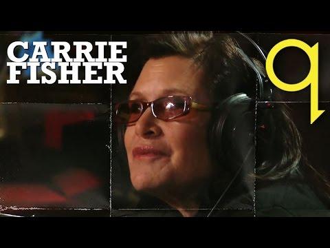 Star Wars Luminary Carrie Fisher In Studio Q