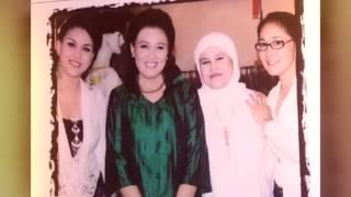 Julia Rossie. With Uci Bing Slamet & Ibu Alicia Djohar. Dalam Acara Anniversary JR Salon 2005