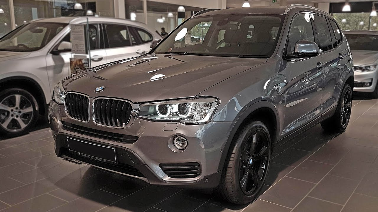 2017 Bmw X3 Xdrive20d View