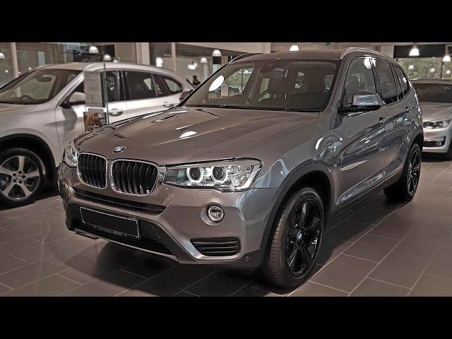 2017 BMW X3 xDrive20d   -[BMW.view]-