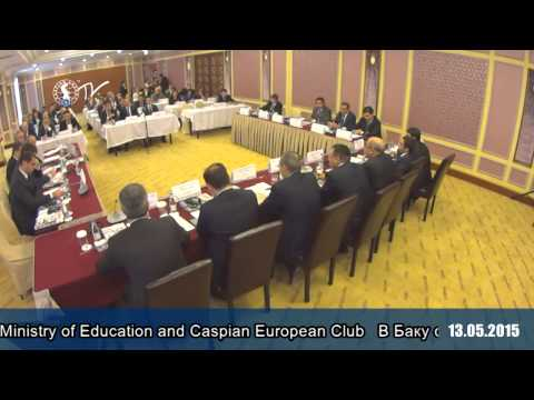 Baku hosts business forum of Ministry of Education and Caspian European Club 06.05.2015