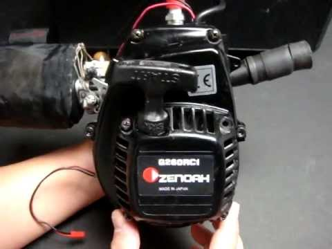 Zenoah G260RC1 26cc gas 2-stroke RC engine