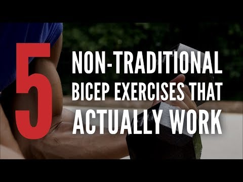 5 Non-TraditionalBicep Exercises That Actually Work