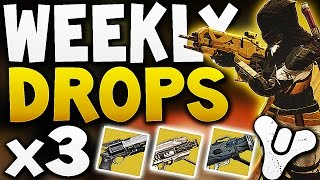 Destiny - WEEKLY DROPS x3 (EXOTIC LOOT)