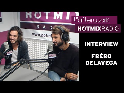 Fréro Delavega en interview sur Hotmixradio