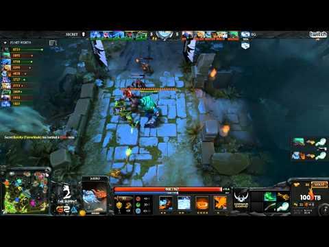 EG vs Secret - The Summit 2 LAN - G3