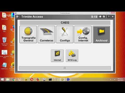 Geotaller Conversión de Coordenadas Geodésicas a Topográficas con el Trimble Business Center | CAEG