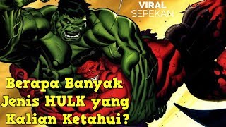 6 Jenis HULK Paling Kuat Dalam Sejarah Marvel - Terlalu Kuat!