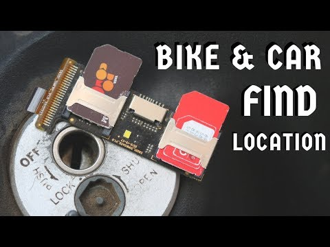 GPS Tracker For Bike