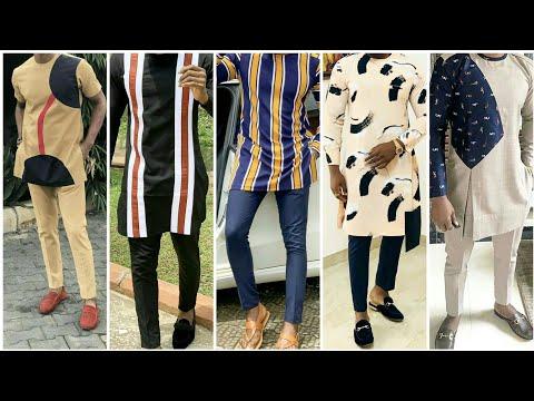 African new style kurta pajama ideas for men    latest  kurta design of African men's