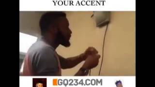 comedy video So Hilarious It Takes A Step To Change Your Accent    You Will GQ234 com