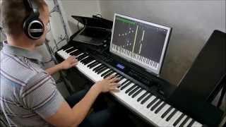 Kingdom Hearts - Passion (Kyle Landry version, piano solo, midi)