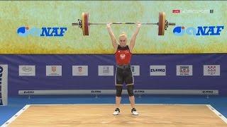 2017 European Weightlifting Championships Women 53 kg \ Тяжелая атлетика Чемпионат Европы [1080]