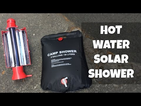 Hot water Solar Shower