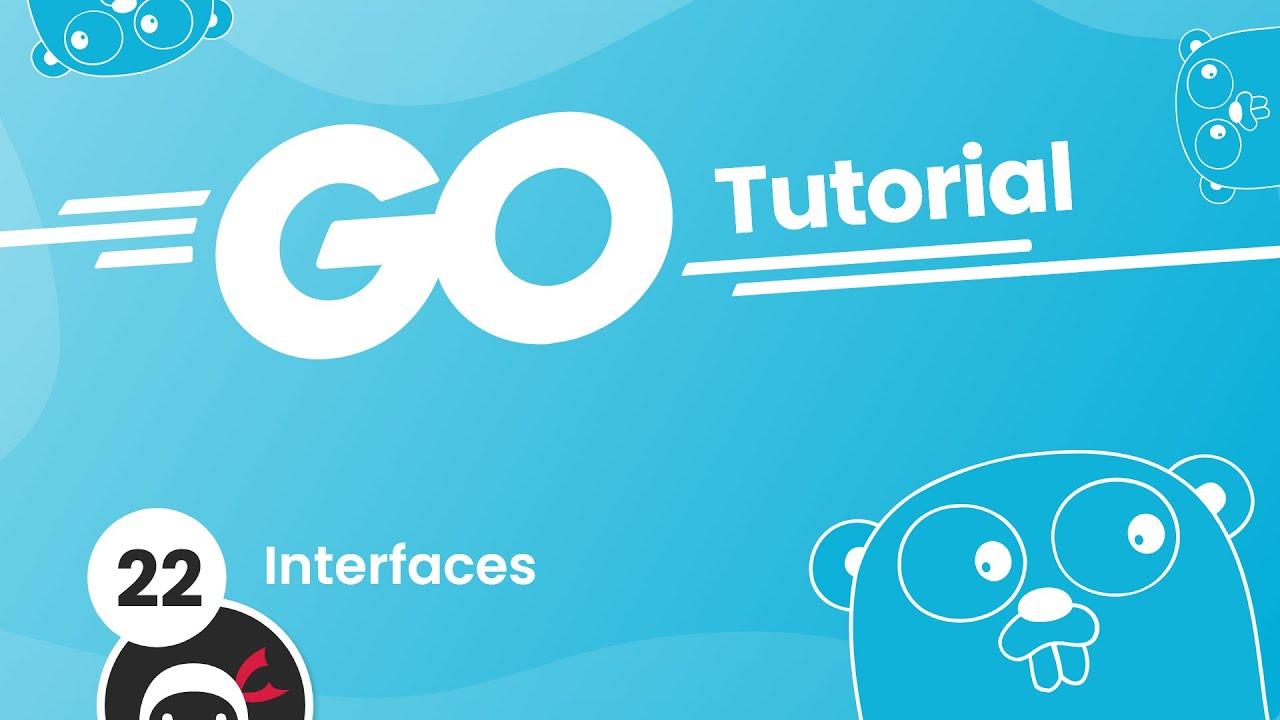 Go (Golang) Tutorial #22 - Interfaces