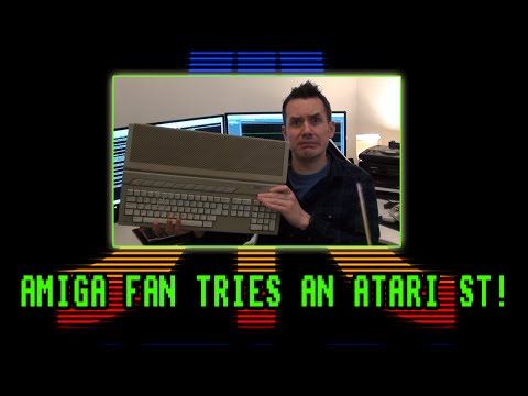 Atari ST (1989) Computer System Review