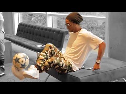 FREESTYLE SKILLS with RONALDINHO!!!